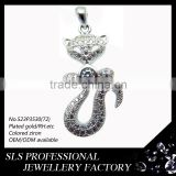 Wholesale jewelry fashion China website that accept paypal costume jewelry girls gift silver pendant