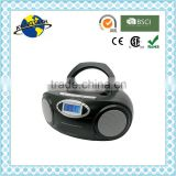 Top Selling Fancy Foldable Handle CD Boombox / Cassette Player Boombox / MP3 Boombox