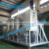 Waste tyre or plastic pyrolysis oil filter/oil treatment plant to get diesel fuel by distillation