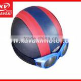 Look! do you like this swimming helmet swimming cap