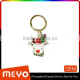 Stock Metal Alloy Cheap Bulk Keyring Keychain Christmas Decorations Stock Metal Keychain Christmas Decorations