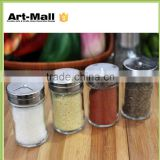 New Products 12OZ Clear Glass Round CE Cheap Custom Glass Jar Supplier