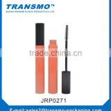 Cosmetics mascara tube Packaging with orange color