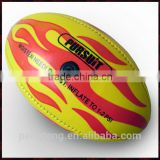 custom promotional mini rugby ball / custom print rugby ball / promotional pvc rugby ball