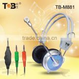 2015 Popular best selling stereo gaming headphones with mic for laptop