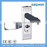 SAIP/SAIPWELL New Product Zinc Alloy Waterproof Electric Door Cylinder Lock Panel Cabinet Lock