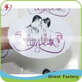 Printing Custom Self Adhesive Kraft Paper Label