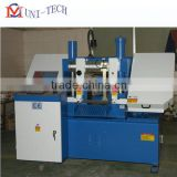 Double column hydraulic metal band sawing machines GHS4228,double column hydraulic sawing machines