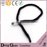 2016 fashionable adjustable shoe lace factory price oem no tie shoelaces easy elastic silicone laces chiffon