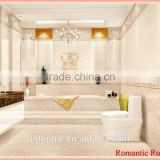 Most popular high class and elegant bathroom wall tile and floor tile for home decoration