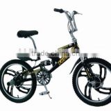 GOOD SALES 20 INCH FREESTYLE BMX BIKE WITH FULL SUSPENSION FORK BICYCLE FREESTYLE
