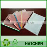 Hot Sale New Deign Translucent Clear PP File Folders for Office Stationery and School Stationery