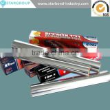 New products Hot stamping Household Paper backed Aluminum Foil brands insulation Roll for food