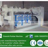 Pin Barrel Cold Feeding Rubber Extrusion Machine / cold feed rubber extruder with advanced TUC system