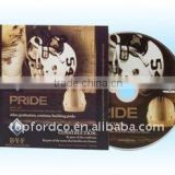 CD DVD replication offseting printing with Cardboard sleeve
