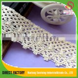 [NTSUNRISING] 5CM cotton crocheted believewin african tulle lace Bohemia style for dress,garment