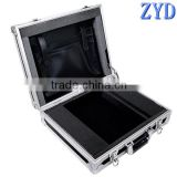 Elegant and modern aluminum hard carrying case for laptop, laptop metal case (ZYD-SM8114)