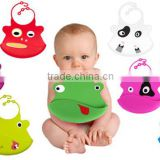 soft popular 100% food grade baby bib carters