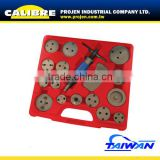 CALIBRE Right & Left Reaction in ONE universal caliper wind back kit disc brake caliper piston tool
