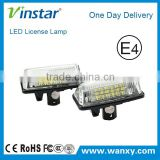 LED License plate light LCL car led tail number plate light for toyota for Crown with E4 E-mark