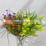 Latest beautiful plastic flowers artificial flowers bouquets for wedding party decoration