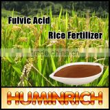Huminrich Almost 100% Water Soluble Fertilizer Quickly Top Dressing 50% Fulvic Acid For Rice