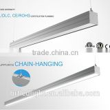 2016 hot sale commercial led pendant linear lighting 30w 40w linear lighting led light 1200mm 1500mm                                                                                                         Supplier's Choice