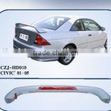 ABS REAR SPOILER FOR CIVIC 01- 04