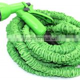 green x expanding garden water hose with plastic connector