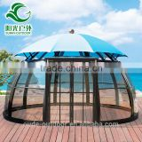 Top quality newest luxurious garden gazebo tent with canopy and windows                                                                         Quality Choice