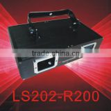 single red 200mW laser light with double holes by step motor