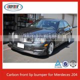 Carbon Fiber Front Bumper Lip Spoiler Bodykit Fit for 2010-12 MERCEDES W204 C63 SEDAN