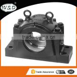 High temperature resistance ball transfer unit ball bearing uc oval flange bearing units p206