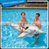 Silver inflatable whale model,inflatable water whale model,inflatable whale model for water game                                                                         Quality Choice