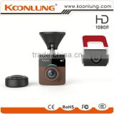 sony sensor two lens dual camera hidden installatio Car DVR Car Cam corder Parking Monitoring dash cam