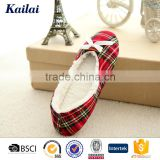 children latin flexible red plaids cloth dance shoes