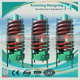 Latest high quality advance technology beneficiation machine spiral chute