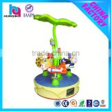 kids amusement machine mini electric carousel for sale china supplier