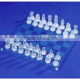 GLASS CHESS GAME