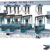 F63-6C multi-drill machine