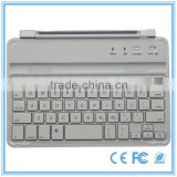 2013 new product Ultra slim aluminum case for ipad mini with embedded bluetooth keyboard from Shenzhen factory