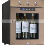 3 bottles spout wine dispenser machine for home use bar wine bottle shot machine