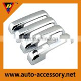 Chrome door handle cover with smart keyhole for ford f150 parts and accessories