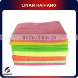 China manufacture wholesale 300GSM PU coating microfibre car cleaning cloth