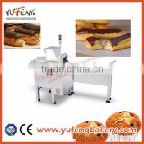 Automatic Whipped or Custard Cream Filling machine for Eclair