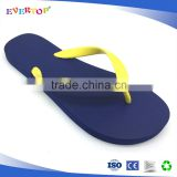 Classic style with solid printing rubber flip flops Chinese goods wholesales beach slipper