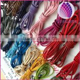 wholesale price 3mm round real leather cord for making bracelets jewelry round leather string