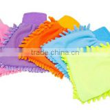 Hot Sale microfiber chenille glove for cleaning wholesale OEM Microfiber Manufacture Factory chenille car wash