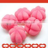 2013 Hot Sale Heart Shape Hair Curling Sponge
