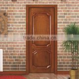 Solid Wood Door Material and Finished Surface Finishing emergency exit door with push bar